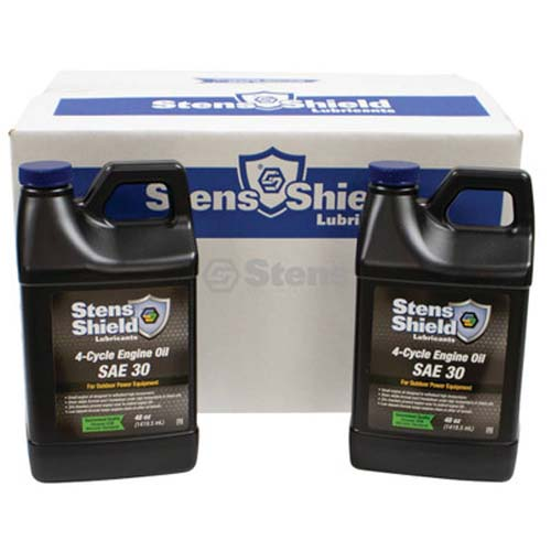 4-Cycle Engine Oil SAE30, 8 x 48 oz. Bottles / 770-032