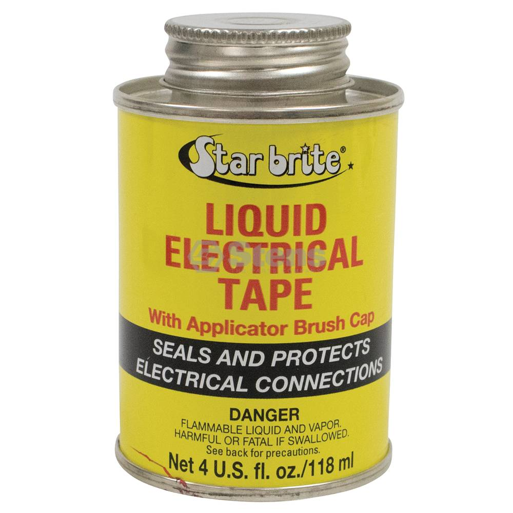 Stens StarBrite Electrical Tape Red Color, 4 oz. Can / 770-036