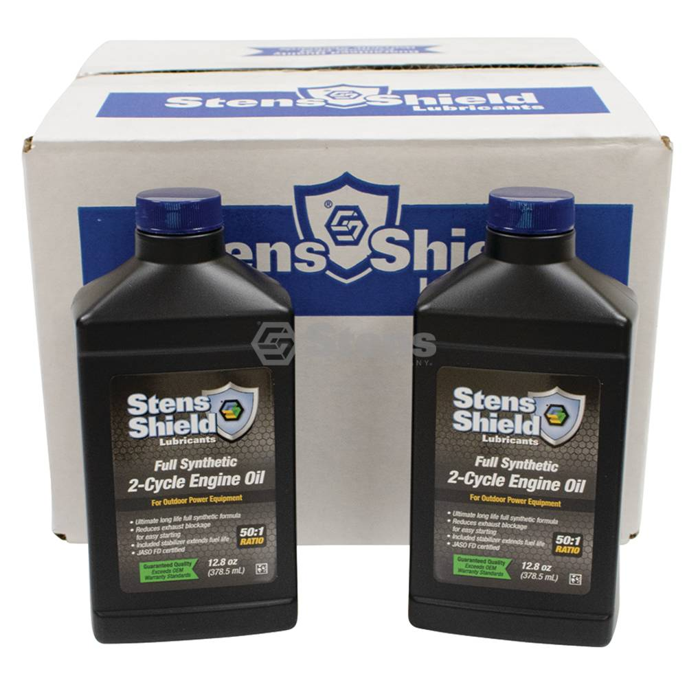 Shield 2-Cycle Engine Oil, Twenty-Four 12.8 oz. Bottle / 770-124