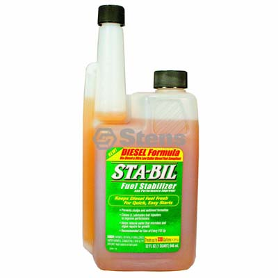 Sta-Bil Diesel formula Fuel Stabilizer 32 oz Bottle / 770-153