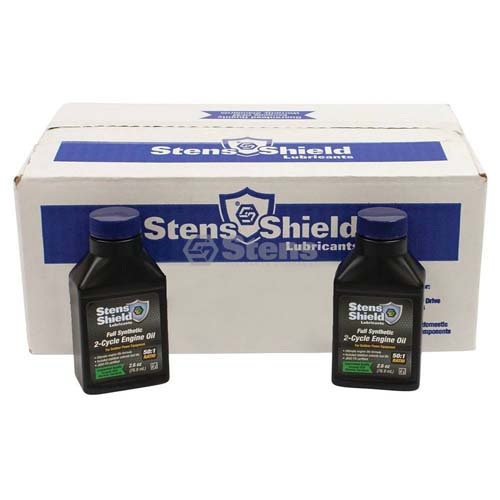 Full Synthetic 2-Cycle Engine Oil Case of 24 x 2.6 oz. Bottles /770-260