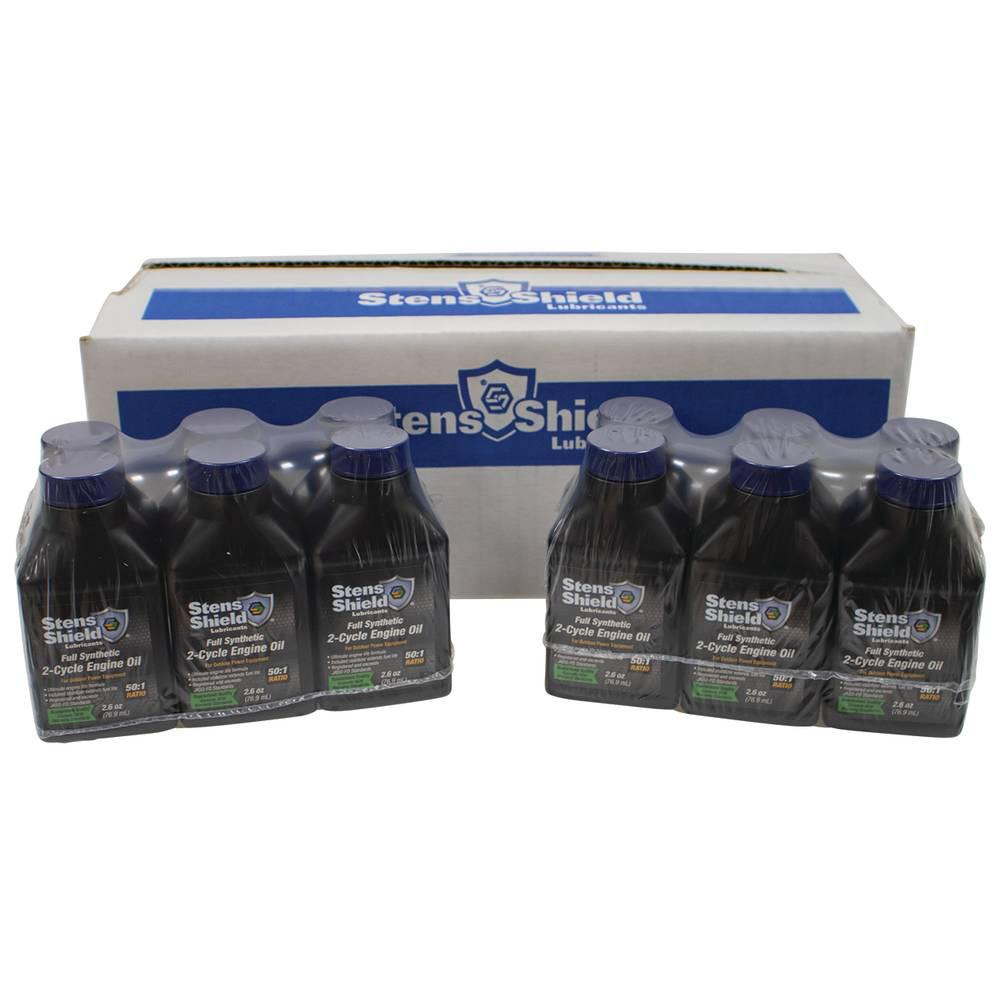 Shield 2-Cycle Engine Oil Twenty-Four 2.6 oz. Bottle / 770-264