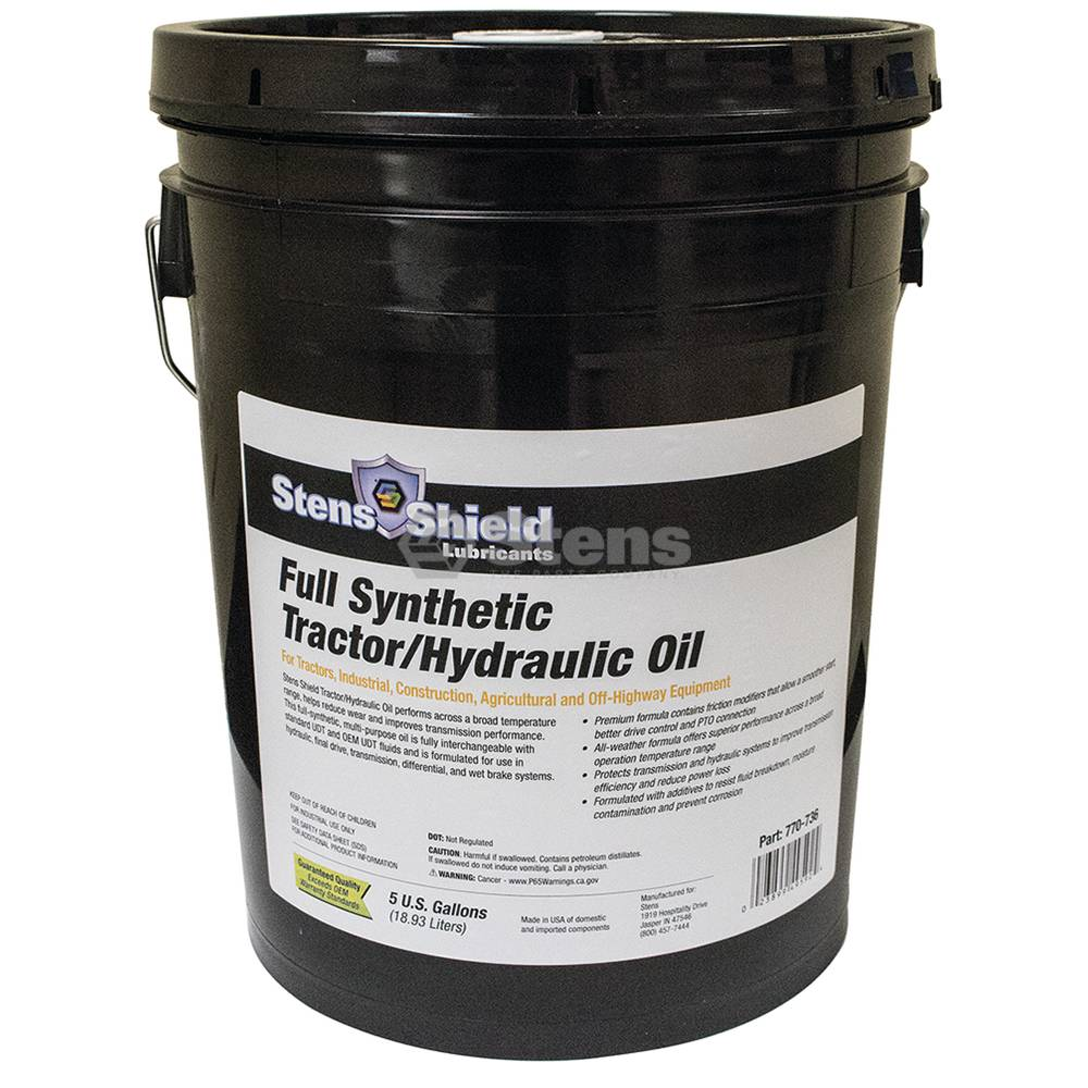 Stens Hydraulic Oil 5 Gallon Pail / 770-736