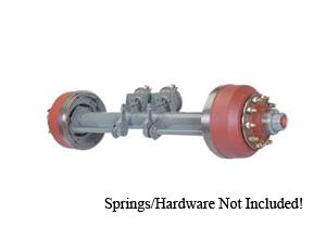 25000 Lb Axle Heavy Duty Less Hubs & Drum Brakes / D200-6-LHD12
