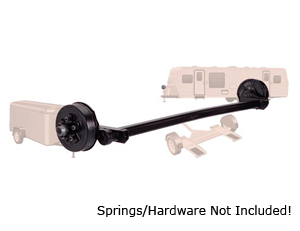 "3500 Lb #10 Torflex Axle 5 on 4.75"" Hydraulic Single Servo / D10TA35-5475H"