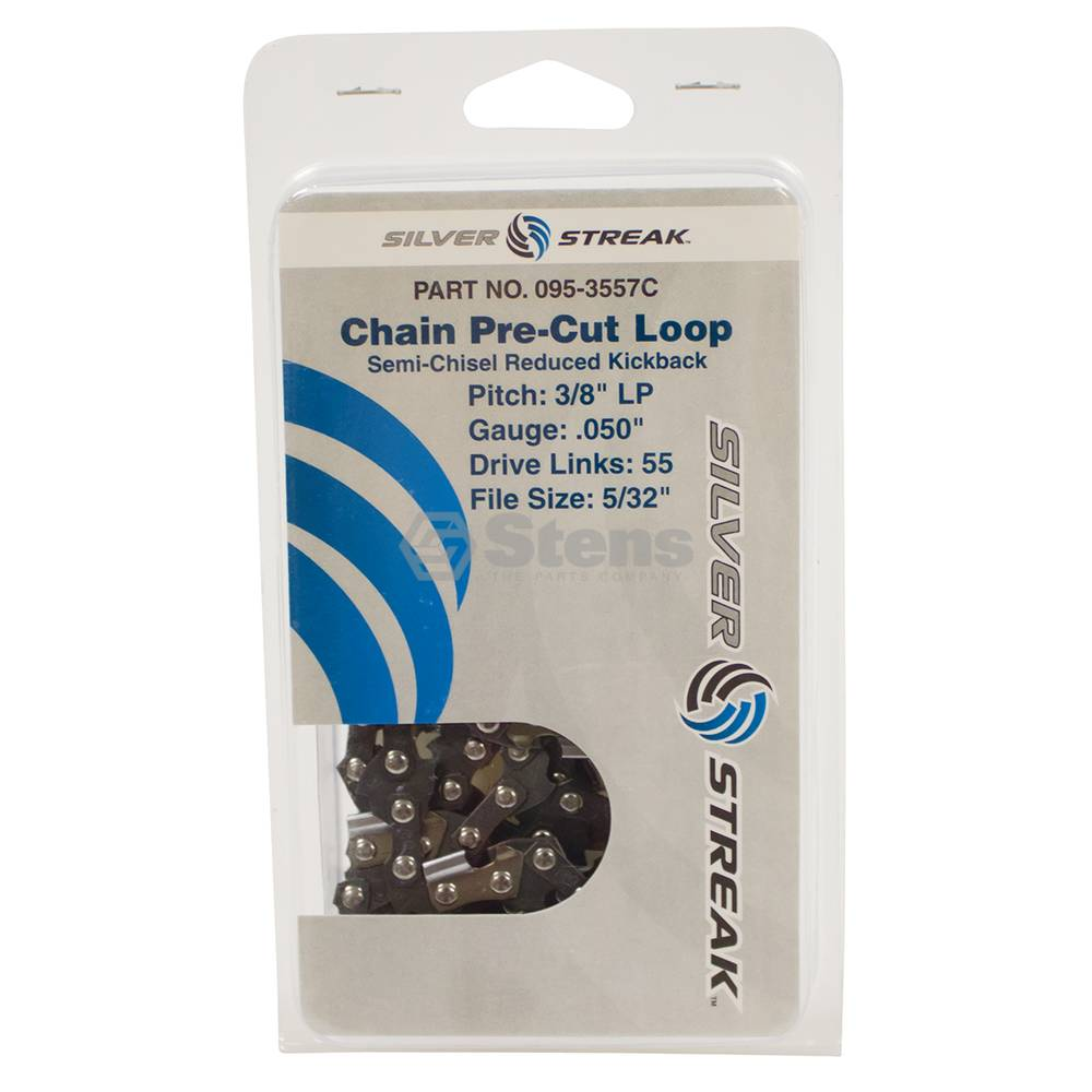 "Chain Loop 55 DL 3/8"" LP, .050, S-Chis Reduced Ki / 095-3557C"
