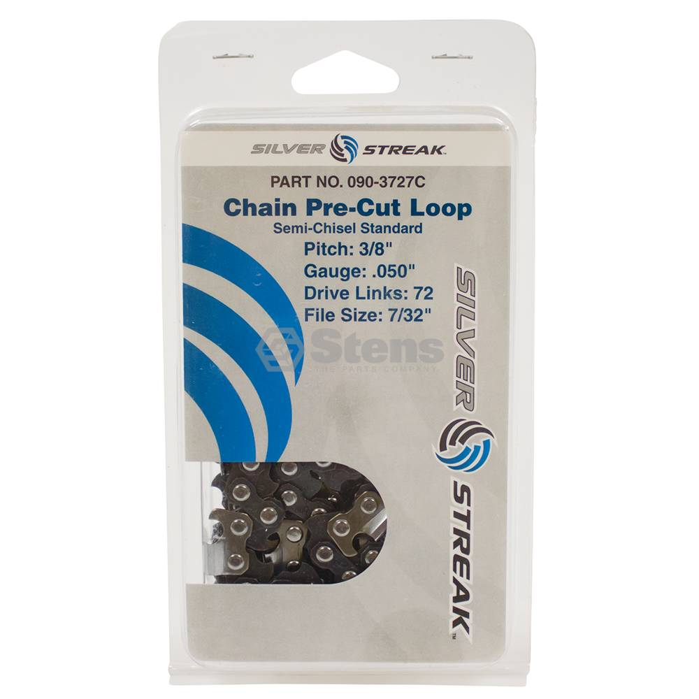 "Chain Loop 72 DL 3/8"" LP, .050 S-Chisel Standard / 090-3727C"