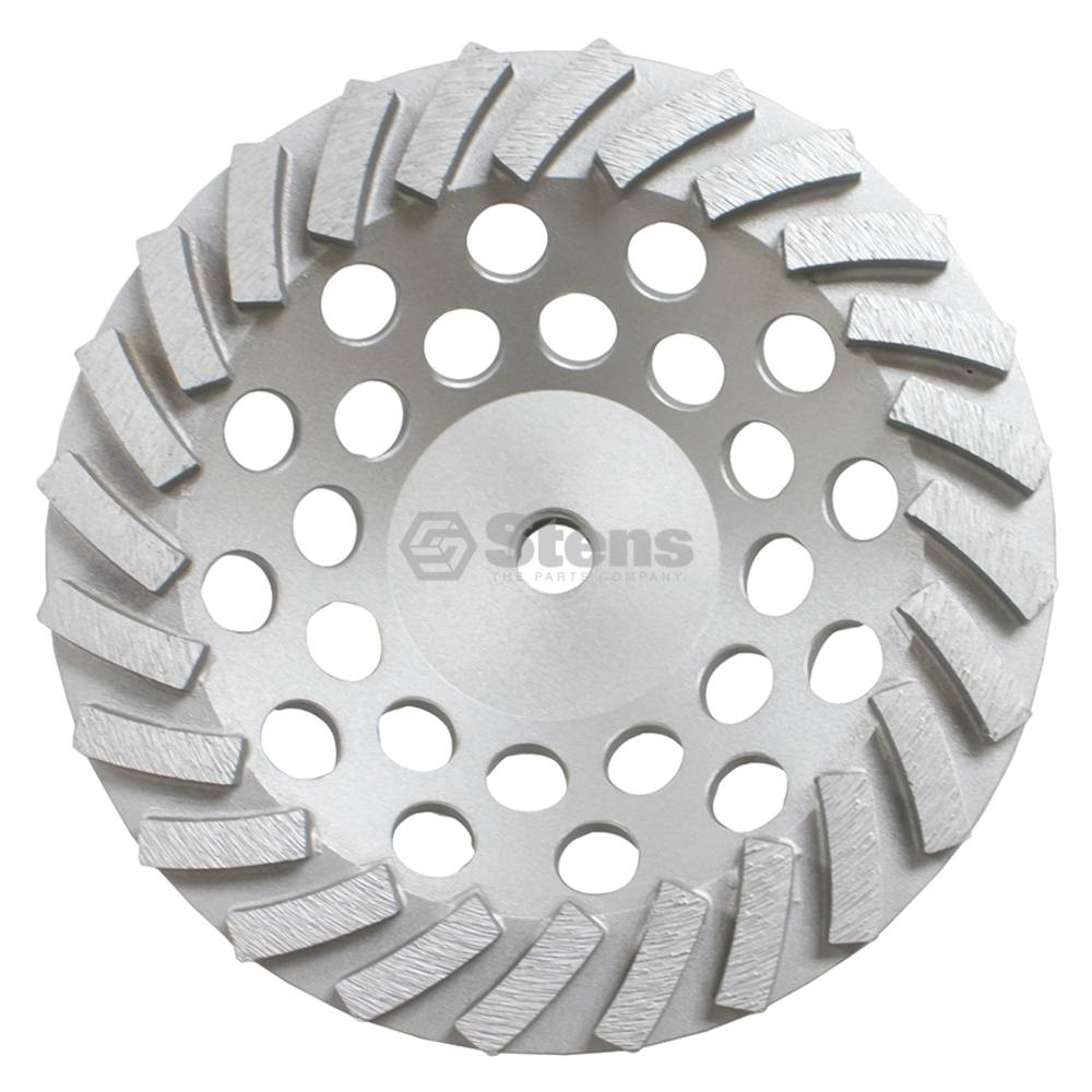 "Silver Streak ` 7"" Turbo Cup Wheel 24 Segments / 309-50 2"