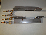 Steel Weld-on Mounting Bracket Kit for #8 and #9 Torflex Axles / AP165