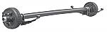 "2 x Dexter 6000 Lb Straight Axles Complete Kit 6 on 5.5"", Electric / 60655E-ST-EZ-KIT"