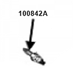 Honeywell OEM HW7500E Spark Plug / 100842A