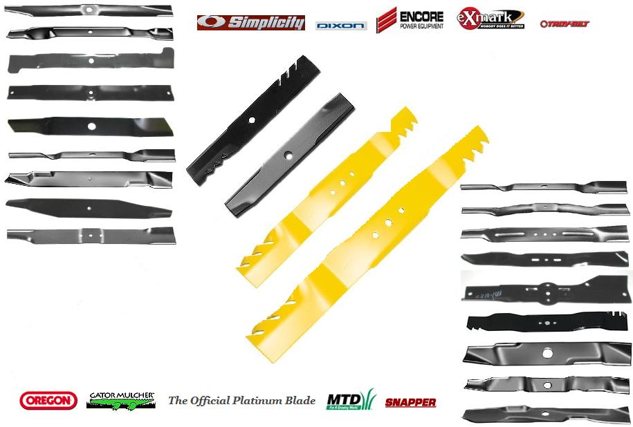 lawn mower blade parts. the oem parts store - an authority in lawn mower blade distribution